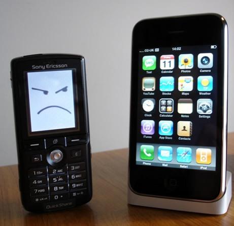 iPhone vs otros terminales móviles